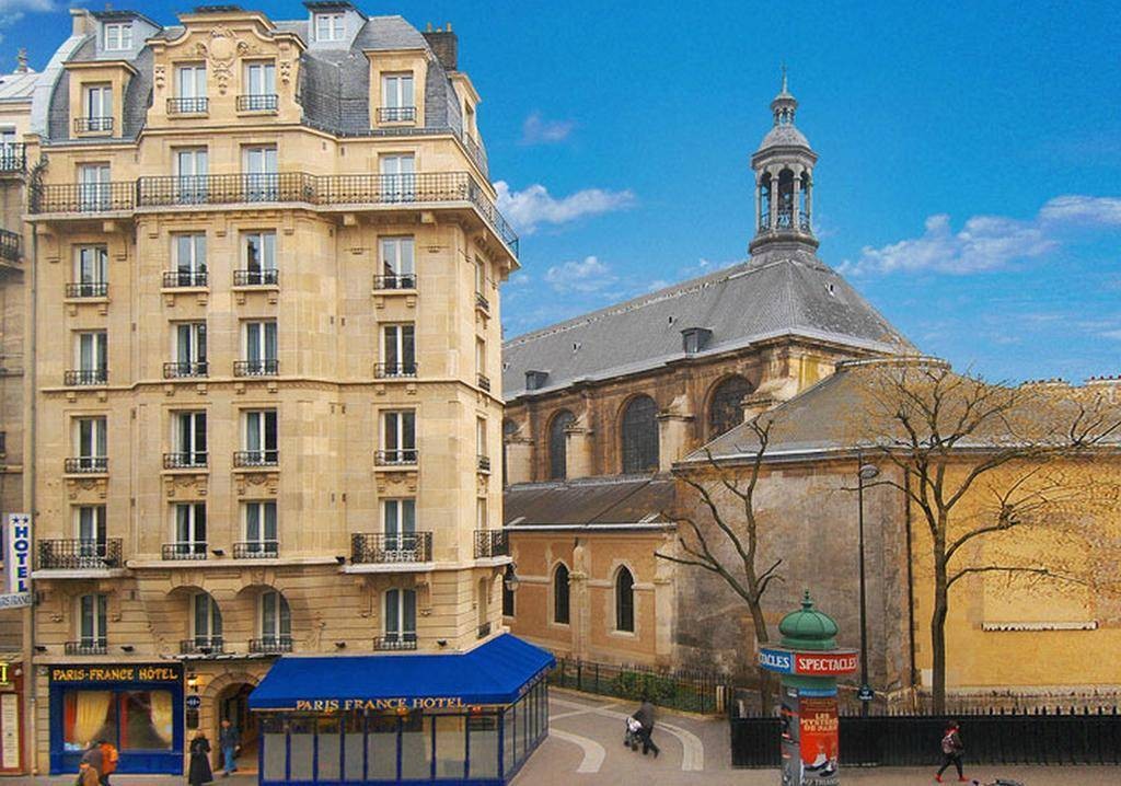 Hotel paris france paris review by eurocheapo for Hotel paris x